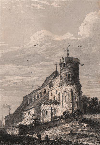 Associate Product PARIS. Eglise de Montmartre. BICKNELL 1845 old antique vintage print picture