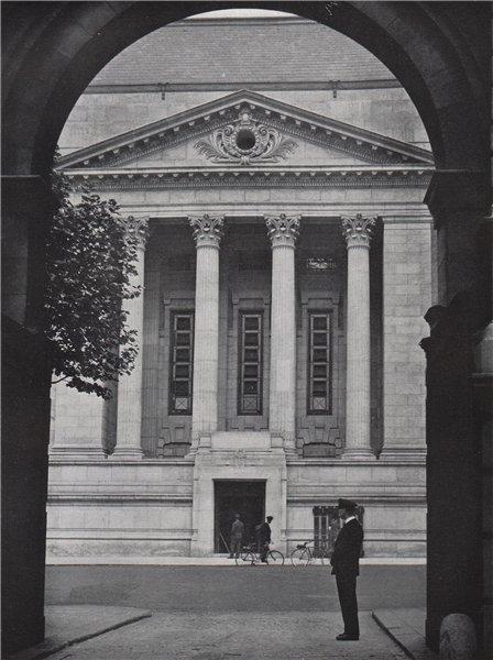 Geological (now Natural History) Museum, South Kensington. EO HOPPÉ. London 1930