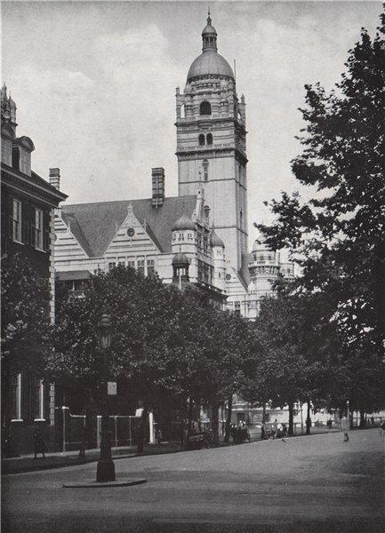 Associate Product Imperial Institute Exhibition Road South Kensington. Demolished 1957. HOPPÉ 1930