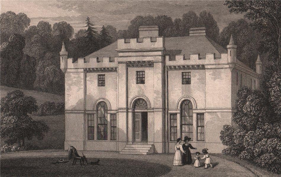 Associate Product EDINBURGH ENVIRONS. Hermitage of Braid. SHEPHERD 1833 old antique print