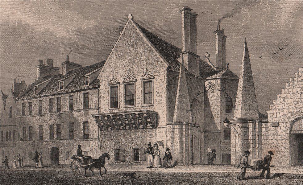 Associate Product UNIVERSITY OF EDINBURGH. Moray House, Canongate. Regent Murray. SHEPHERD 1833