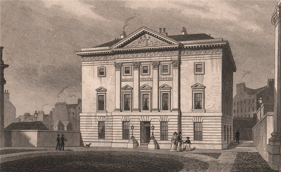 Associate Product EDINBURGH. Dundas House, St Andrew Square. Royal Bank of Scotland. SHEPHERD 1833