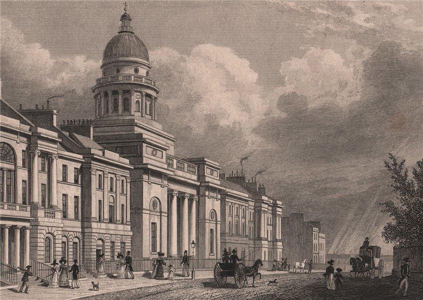 Associate Product EDINBURGH St George's Church/West Register House. Charlotte Square.SHEPHERD 1833