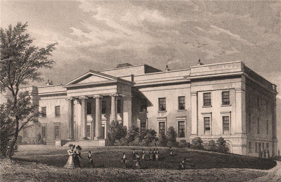 Associate Product EDINBURGH. Merchant Maiden Hospital, Lauriston Lane. SHEPHERD 1833 old print