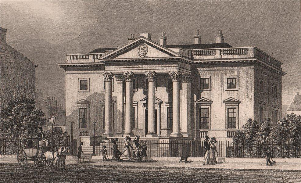 Associate Product EDINBURGH. Physicians' Hall, George Street (site of The Dome). SHEPHERD 1833