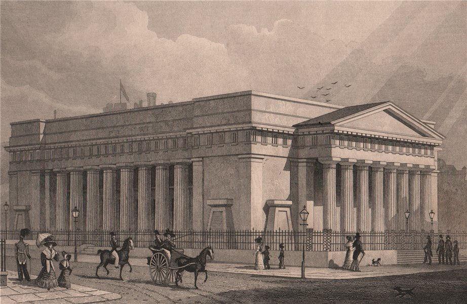 EDINBURGH. Royal Institution. Royal Scottish Academy building. SHEPHERD 1833