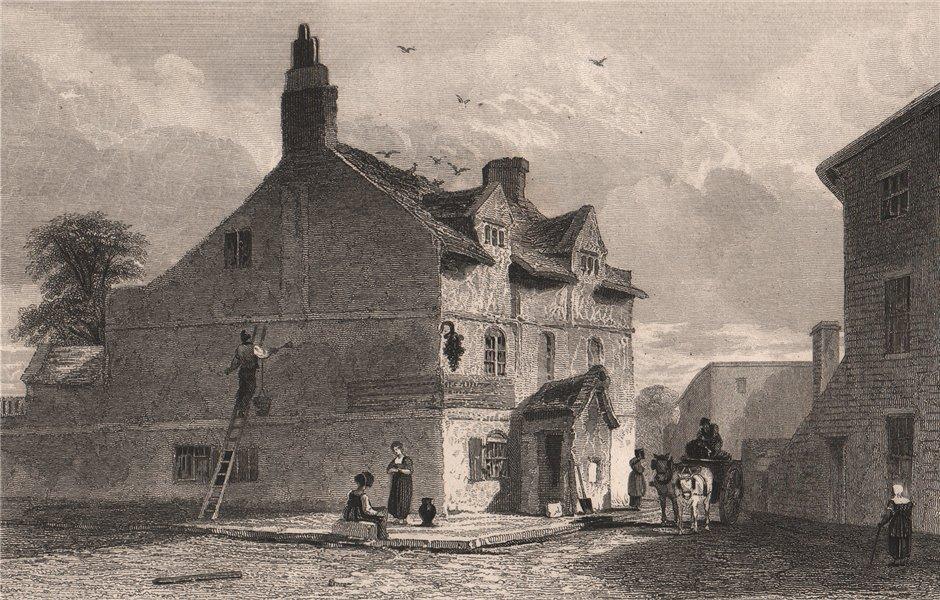 Associate Product Bowling Green Inn, Mount Pleasant, Liverpool. Wm. Roscoe birthplace. AUSTIN 1829