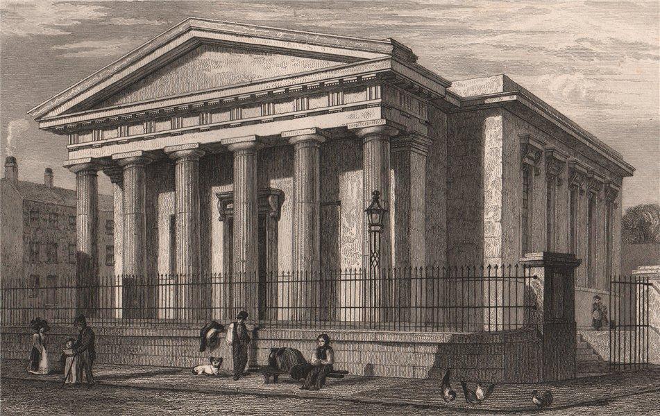 Associate Product Liverpool Royal School for the Blind, Hardman Street/Hope Street. HARWOOD 1829