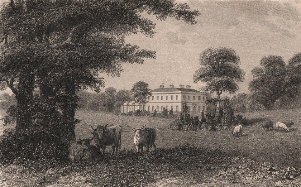 Foxholes, near Rochdale, Lancashire. Demolished c1970. HARWOOD 1829 old print