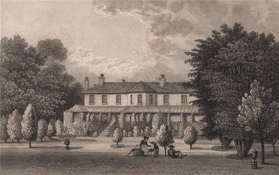 Associate Product Loring Hall (originally North Cray Villa), Kent. SHEPHERD 1829 old print