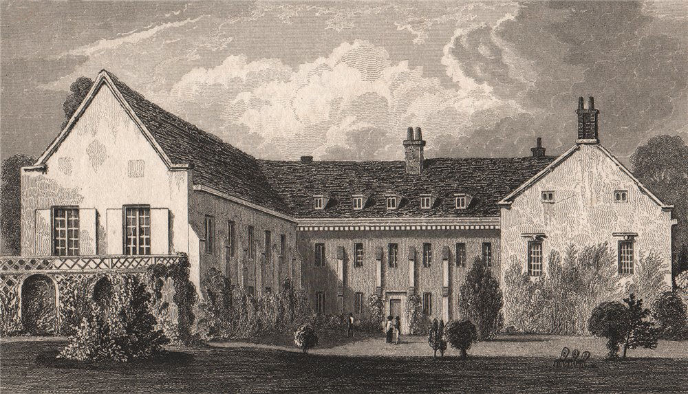 Associate Product The Friars (Aylesford Priory). Kent. The seat of Lord Aylesford. SHEPHERD 1829