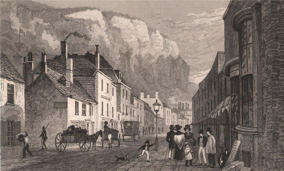 Snargate Street, Dover. Kent. SHEPHERD 1829 old antique vintage print picture