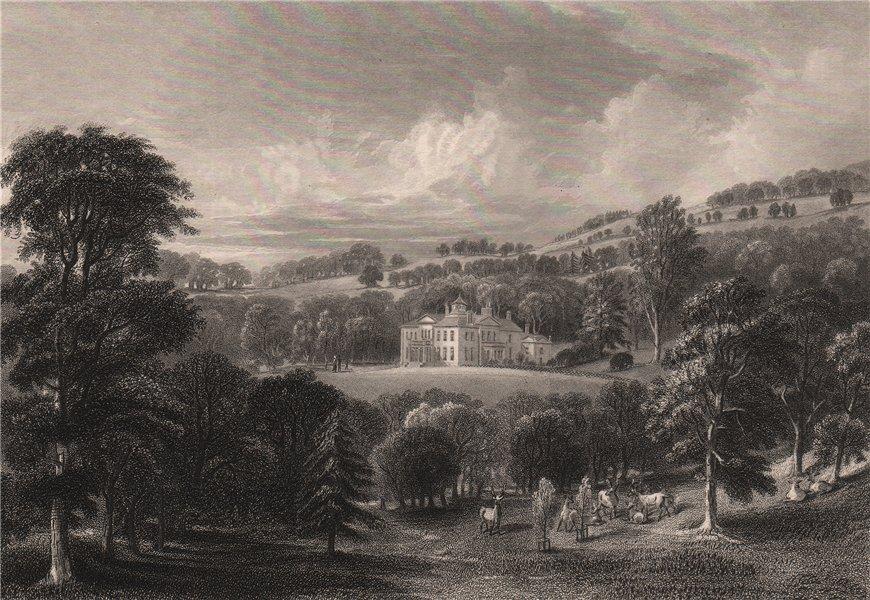 Associate Product Ballendean House. Scotland 1845 old antique vintage print picture