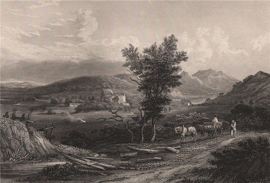 Bandirran Estate, Sidlaw Hills & Dunsinane Hill. Perthshire. Scotland 1845