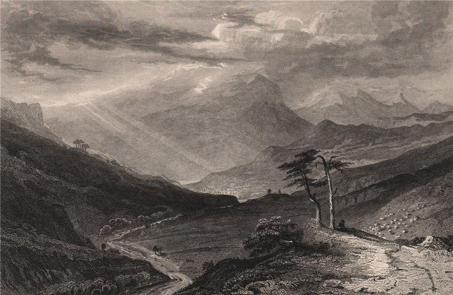 Associate Product Glenericht. Scotland 1845 old antique vintage print picture