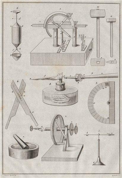 Associate Product SCIENTIFIC INSTRUMENTS. instrumens d'Histoire naturelle II 1834 old print