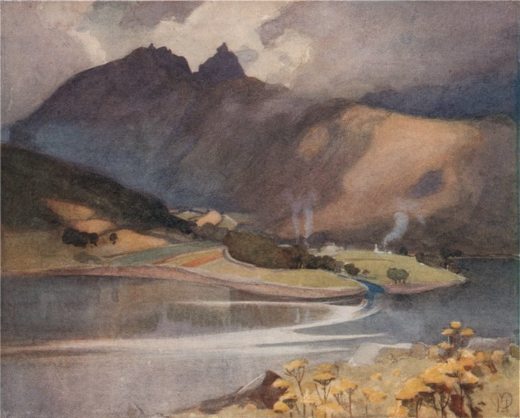 Associate Product ARGYLL AND BUTE. 'Glen Croe' by Mary Young-Hunter. Scotland 1907 old print