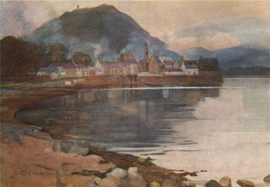 Associate Product ARGYLL AND BUTE. 'Inveraray' by Mary Young-Hunter. Scotland 1907 old print