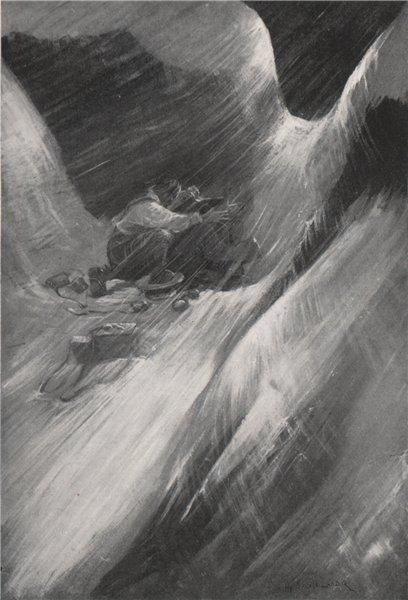 Associate Product Nui Pass, Darma; by Arnold Henry Savage Landor. Tibet 1905 antique print
