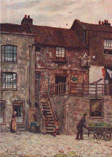 Associate Product Old Houses, White Hart Inn, Southwark, 1884. Philip Norman. Vanished London 1905