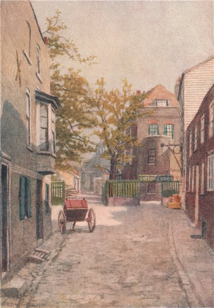 Associate Product 'Layton's buildings, Southwark, 1904' by Philip Norman. Vanished London 1905
