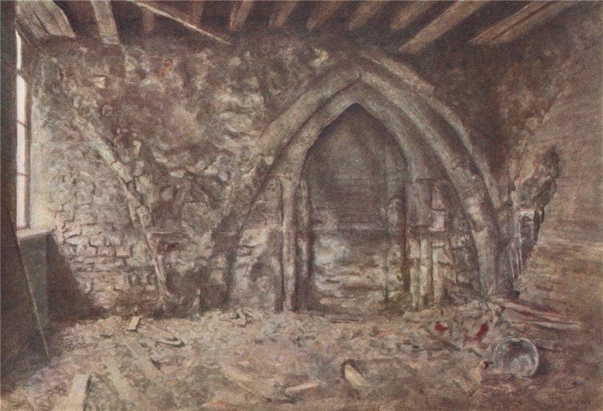 Associate Product Mediaeval Arches, Ireland Yard, Blackfriars, 1900. P Norman.Vanished London 1905