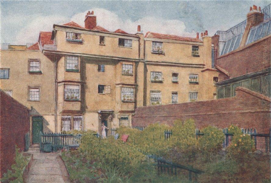 Associate Product 13 14 & 15 Nevill's Court, Fetter Lane 1901. Philip Norman. Vanished London 1905