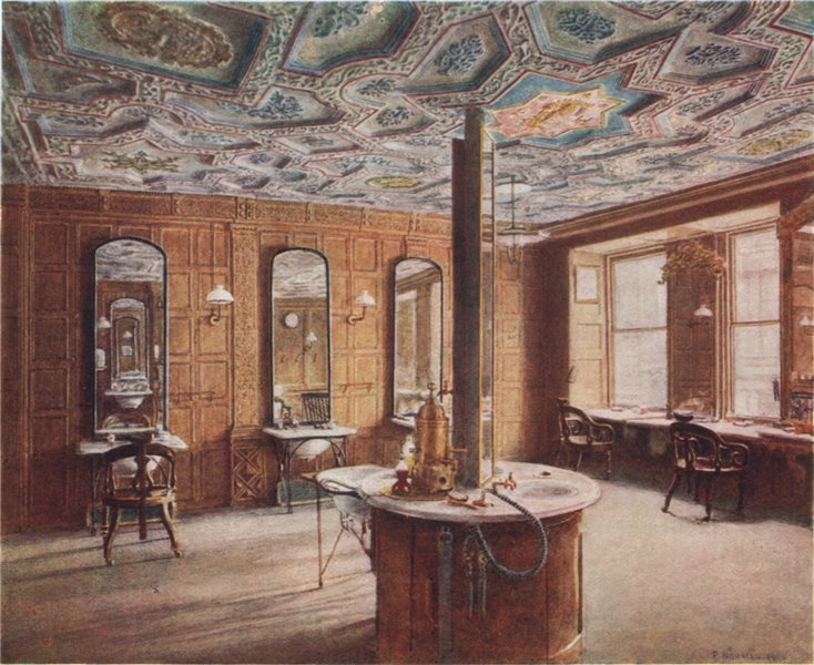 Associate Product 'Room in Inner Temple Gate-house 1899' by Philip Norman. Vanished London 1905