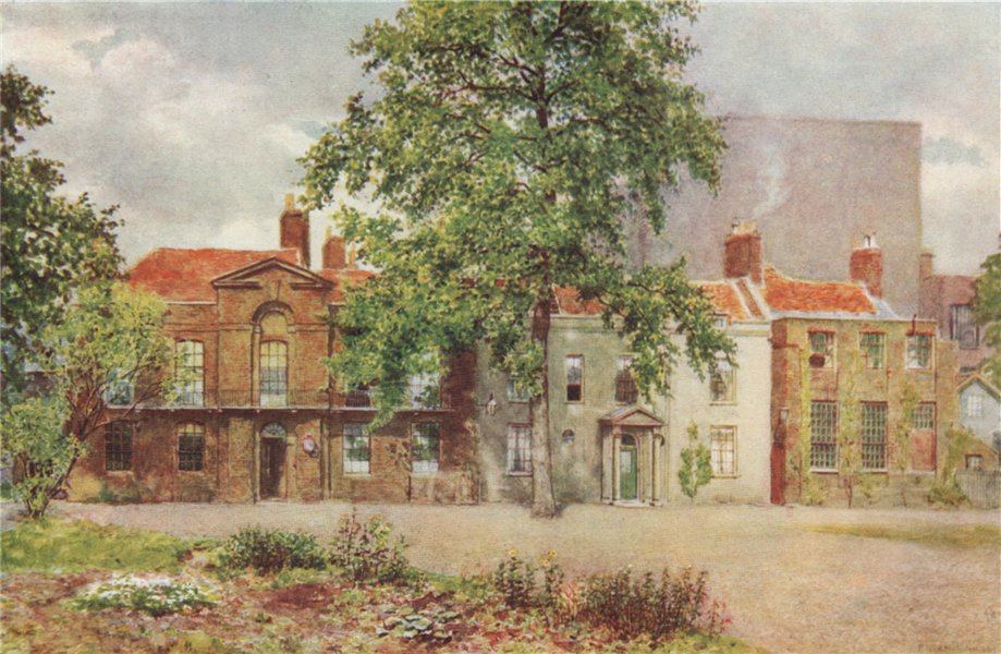 Associate Product 'Old Houses on site of Victoria & Albert Museum, 1899', by Philip Norman 1905