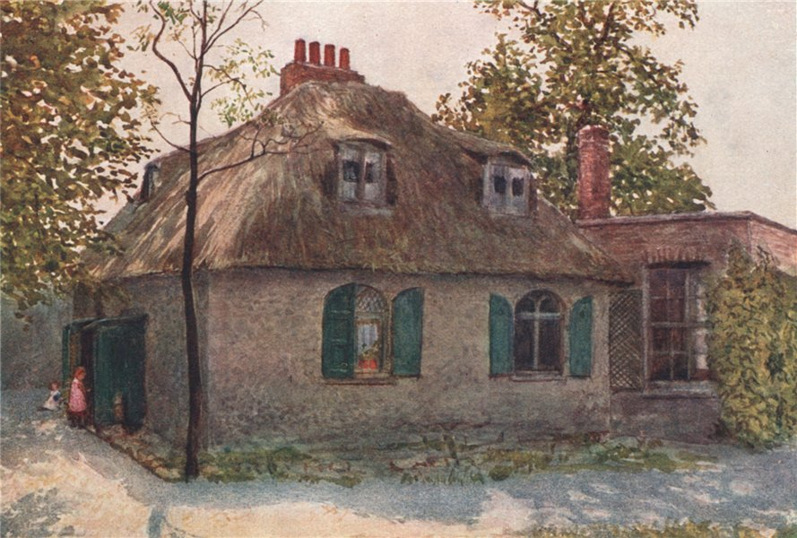 Associate Product 'Thatched Cottage near Paddington Green, 1895' by Philip Norman. London 1905