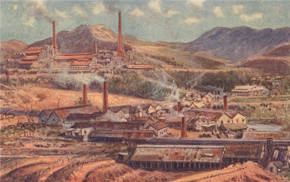 Associate Product 'Mount Morgan, a Great Australian Gold-mine' by Percy Spence. Australia 1910