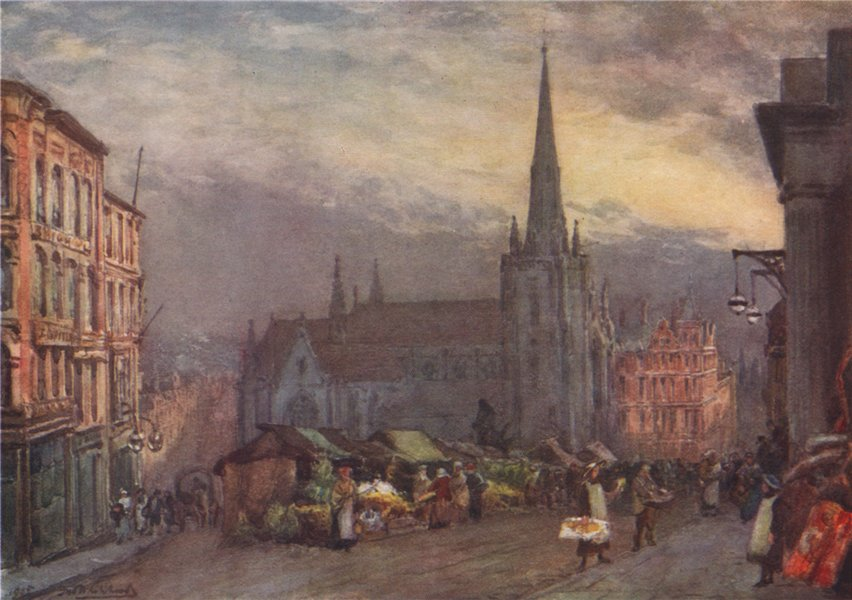 Associate Product 'St. Martin's Church, Birmingham' by Frederick Whitehead. Birmingham 1906