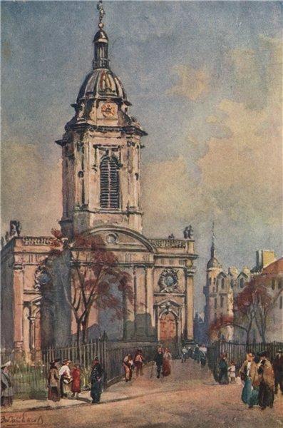Associate Product 'St. Philip's Church, Birmingham' by Frederick Whitehead. Birmingham 1906