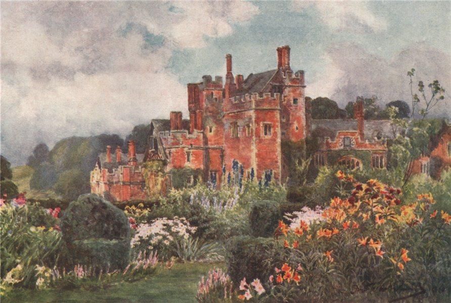 Associate Product 'Compton Wynyates' (3) by Frederick Whitehead. Warwickshire 1906 old print