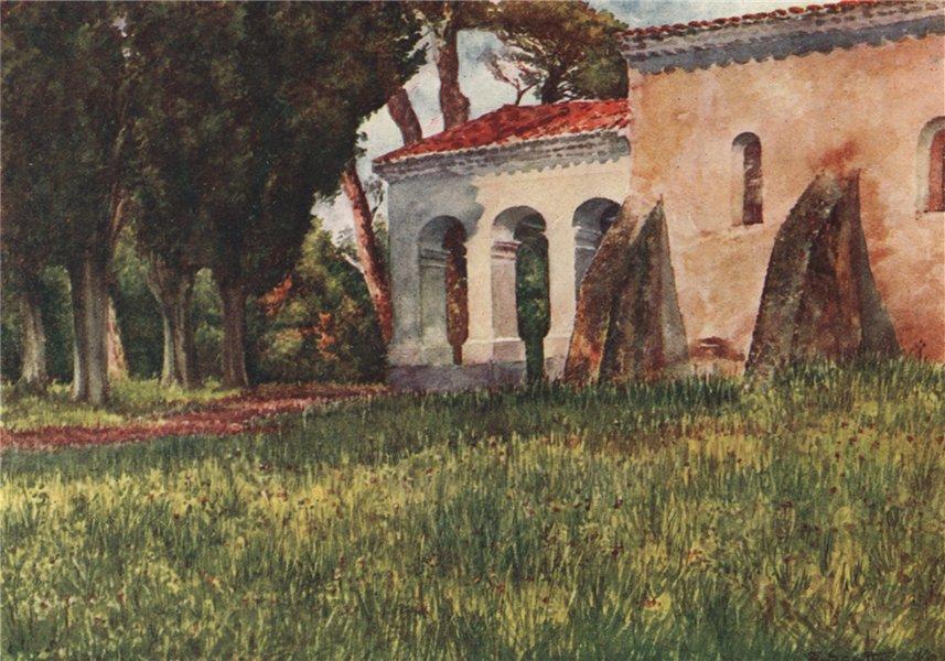 Associate Product 'San Cassien, near Cannes' by William Scott. Alpes-Maritimes 1907 old print
