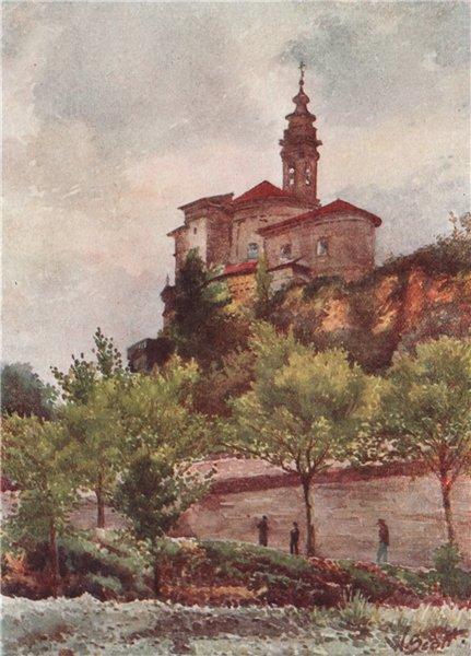 Associate Product NICE. 'Church of Saint-Pons, Nice' by William Scott. Alpes-Maritimes 1907