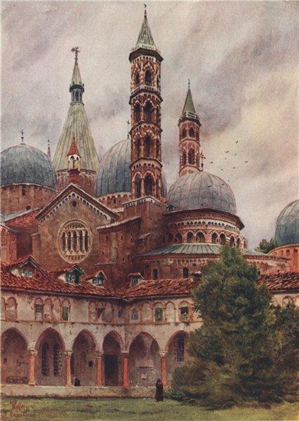 Associate Product PADOVA. 'San Antonio, Padua' by William Wiehe Collins. Italy 1911 old print