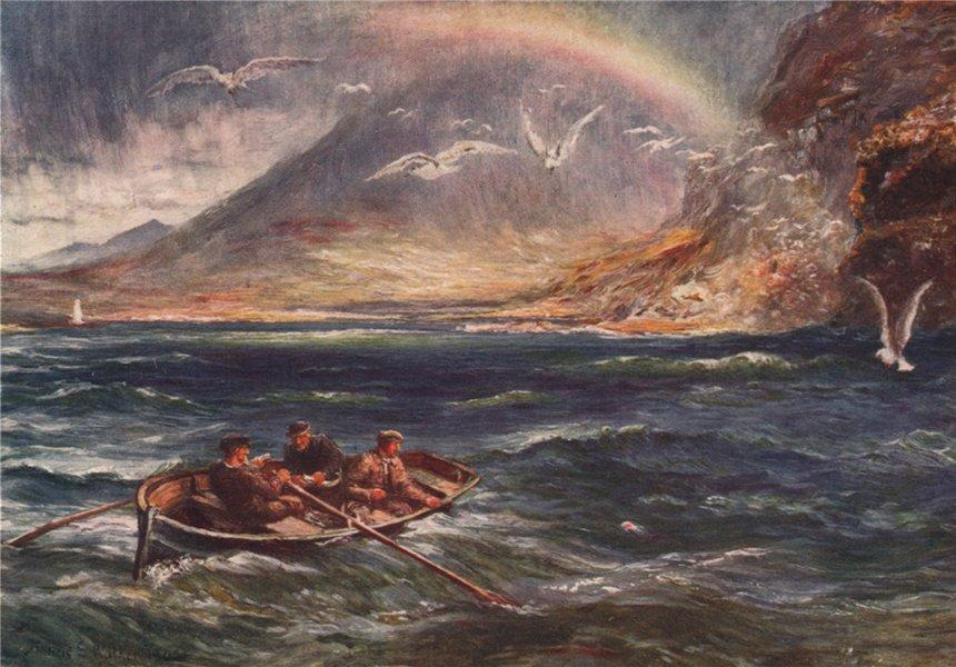 Associate Product 'Deep-Sea Fishing, Killery Bay' by FrancisSylvesterWalker. Ireland 1905