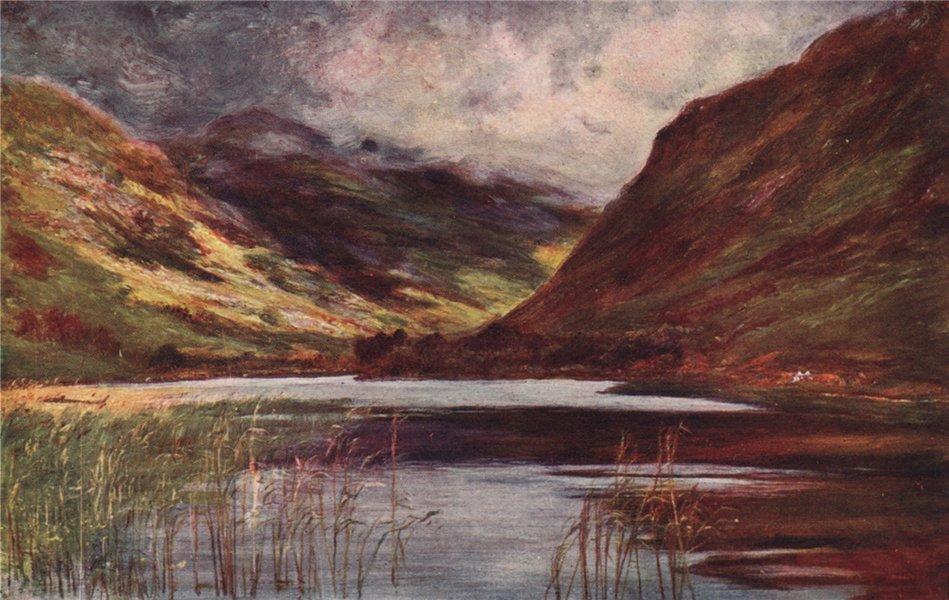 Associate Product 'Delphi Lough' by FrancisSylvesterWalker. Ireland 1905 old antique print