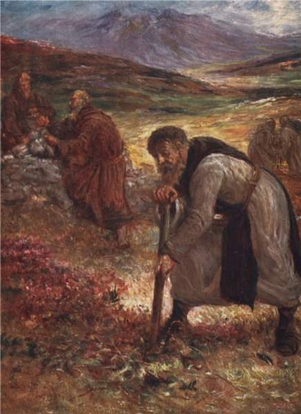 Associate Product 'The Monks of Mount Melleray' by FrancisSylvesterWalker. Ireland 1905 print