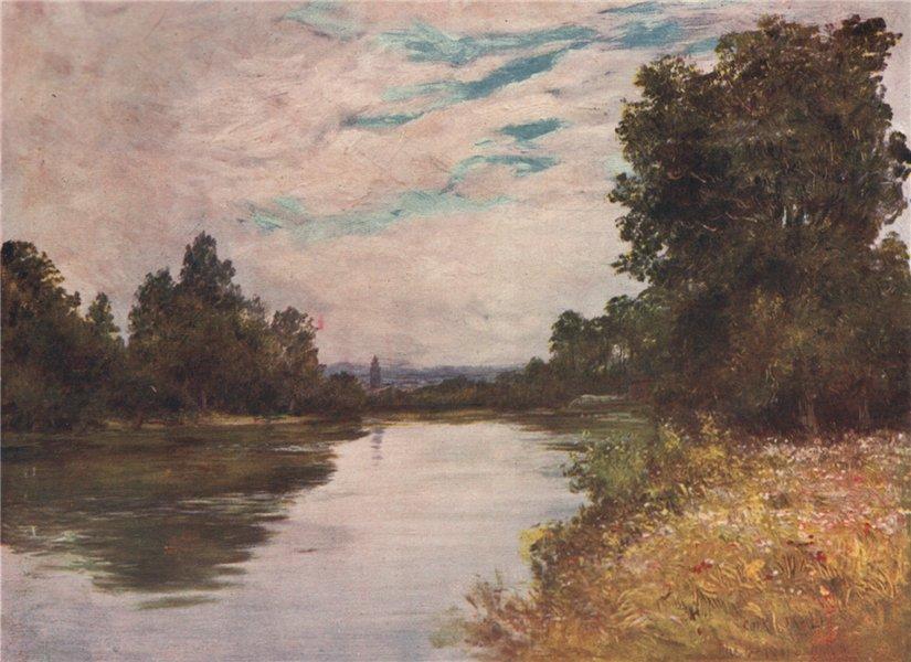 Associate Product 'The River Lee ' by FrancisSylvesterWalker. Ireland 1905 old antique print
