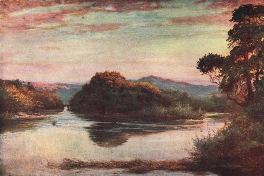 Associate Product 'The meeting of the waters Killarney' by FrancisSylvesterWalker. Ireland 1905