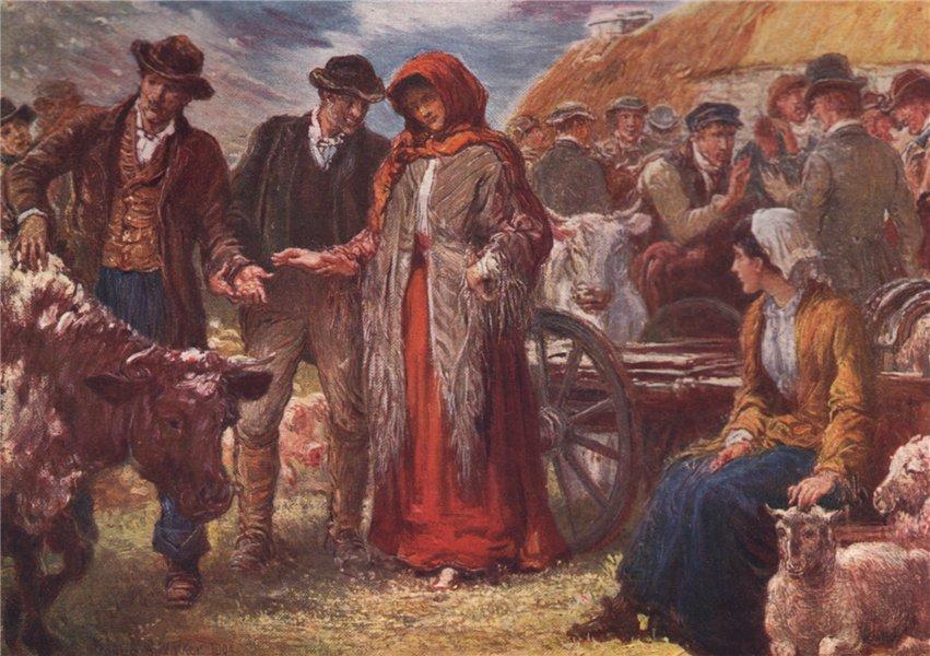 Associate Product 'A Fair' by FrancisSylvesterWalker. Ireland 1905 old antique print picture
