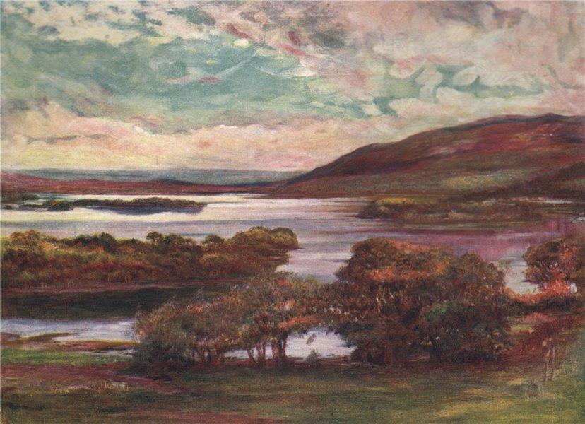 Associate Product 'Lough Gill' by FrancisSylvesterWalker. Ireland 1905 old antique print