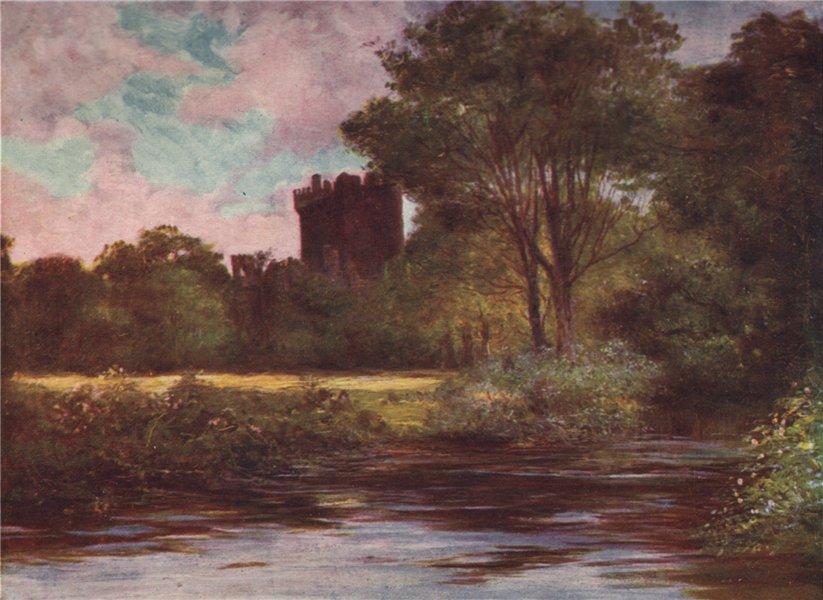 Associate Product 'Blarney Castle' by FrancisSylvesterWalker. Ireland 1905 old antique print