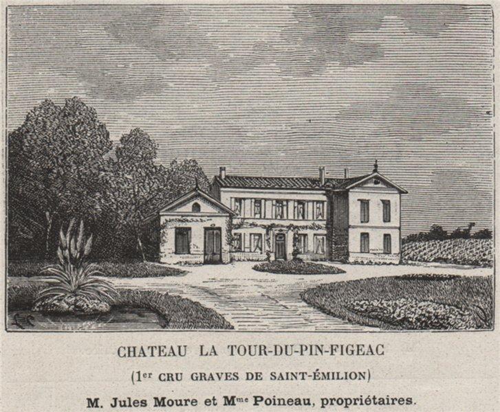 Associate Product Chateau la Tour-du-Pin-Figeac (1er Cru Graves de Saint-Émilion). SMALL 1908
