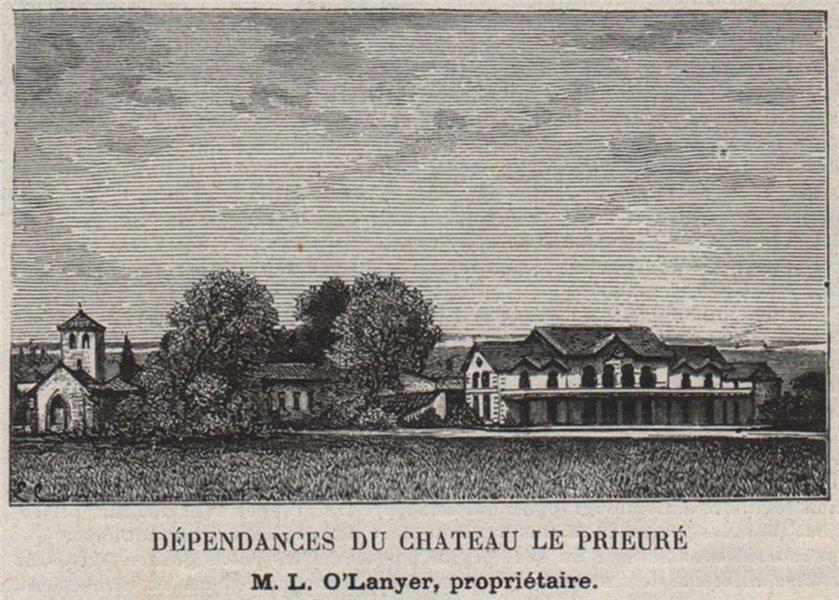 Associate Product BLAYAIS. SAINT-GENÈS-DE-FOURS. Dépendances du Chateau le Prieuré. SMALL 1908