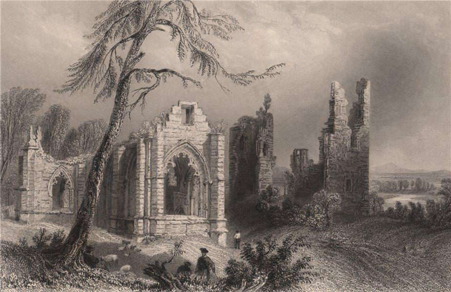 Associate Product Lincluden Collegiate Church. Dumfries-shire. Scotland. BARTLETT 1838 old print