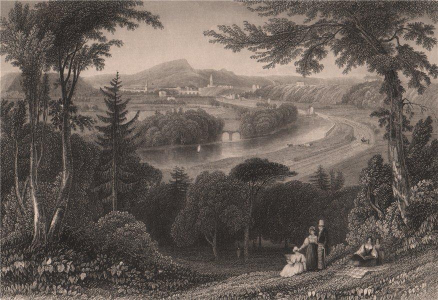 Associate Product Inverness. Scotland. PURSER 1838 old antique vintage print picture