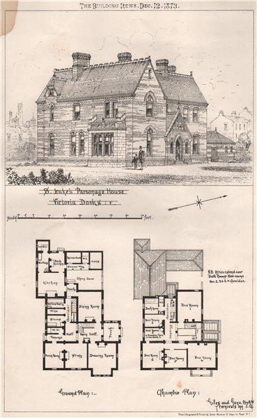 Associate Product St. Leuke's Parsonage House, Victoria Docks. E; Giles & Game, Architect 1873